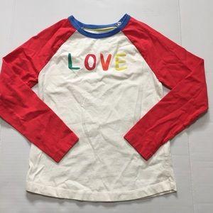 Mini Boden Boy Girl Cotton Shirt Top Size 9-10 Y